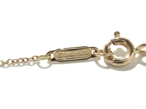 ティファニー ネックレス美品  ハートロック K18PG 総重量:3.1g/- 5
