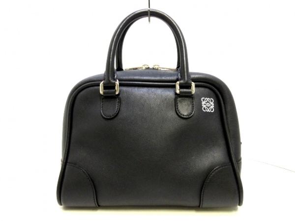 LOEWE(ロエベ) ハンドバッグ アマソナ75 スモール 301.30BL01 黒 カーフレザー