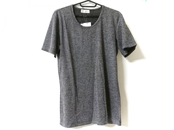 TORNADO MART(トルネードマート) 半袖Tシャツ サイズL メンズ美品  白×黒 Zero