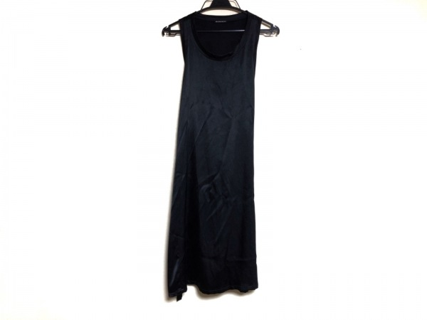 ANN DEMEULEMEESTER(アンドゥムルメステール) ワンピース サイズ34 S レディース 黒