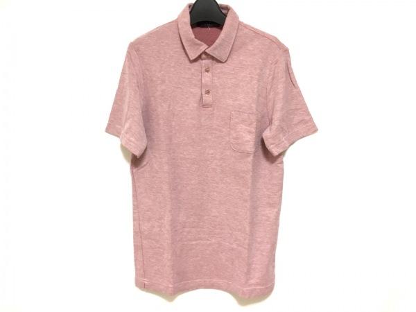 lardini(ラルディーニ) 半袖ポロシャツ サイズXS メンズ美品  レッド×アイボリー