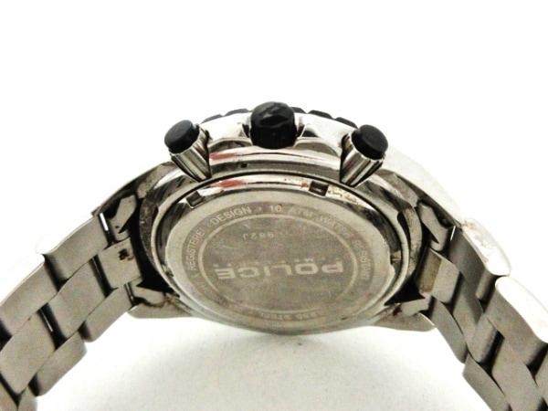 POLICE(ポリス) 腕時計 - メンズ クロノグラフ 黒