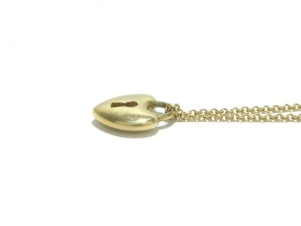 ティファニー ネックレス ハートロック K18YG 総重量3.3g/- 7