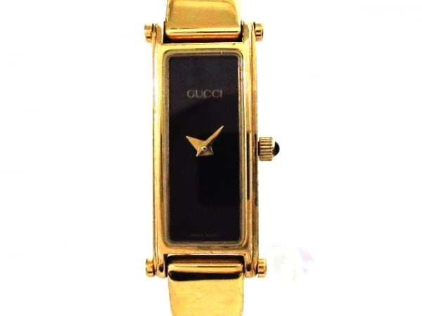 GUCCI(グッチ) 腕時計 1500 レディース 黒