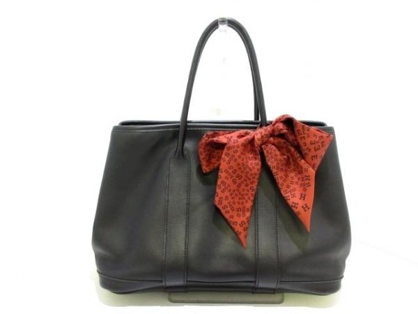 HERMES(エルメス) ハンドバッグ ガーデンツイリーTPM - 黒 ヴォースイフト