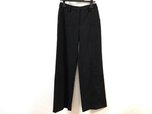 HIROKO BIS(ヒロコビス) パンツ サイズ9 M レディース美品  黒 センターシーム