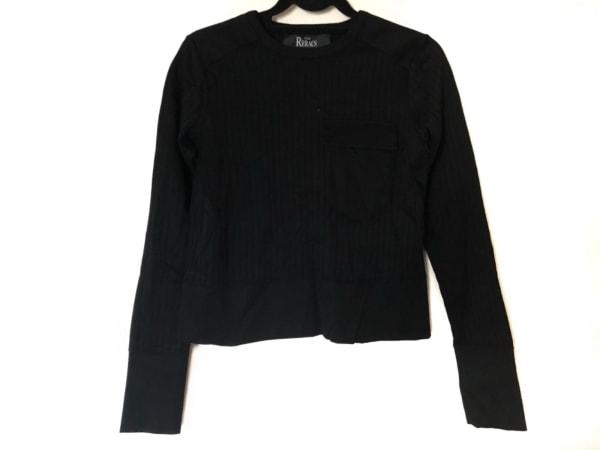 THE RERACS(リラクス) 長袖Tシャツ サイズ38 M レディース美品  黒