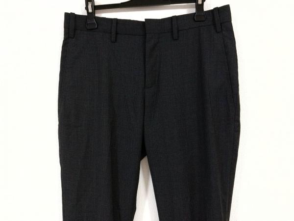 NeilBarrett(ニールバレット) パンツ サイズ48 M メンズ ダークグレー×黒 チェック柄