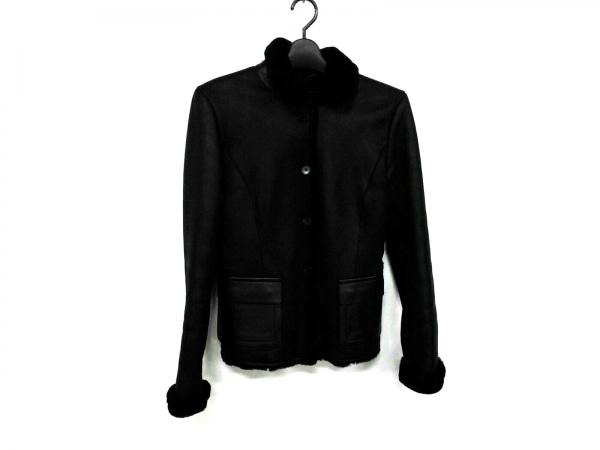 JILSANDER(ジルサンダー) ジャケット レディース美品  黒 ムートン