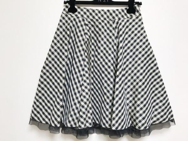 M'S GRACY(エムズグレイシー) スカート サイズ40 M レディース美品  黒×アイボリー
