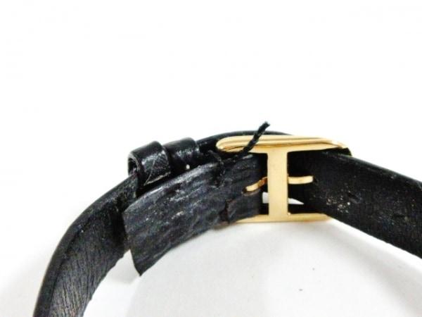 ChristianDior(ディオール) 腕時計 ブラックムーン D46-153-5 レディース 革ベルト 黒