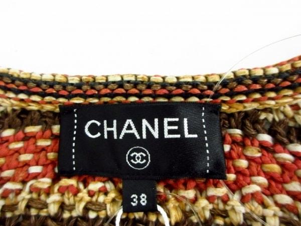 CHANEL(シャネル) ワンピース サイズ38 M レディース新品同様  P58181 麻混/フクロウ