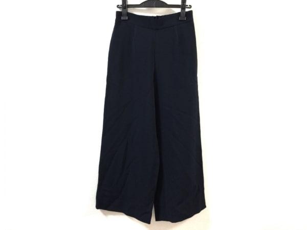 Kiton(キートン) パンツ サイズ40 M レディース ネイビー ハーフゴムウエスト