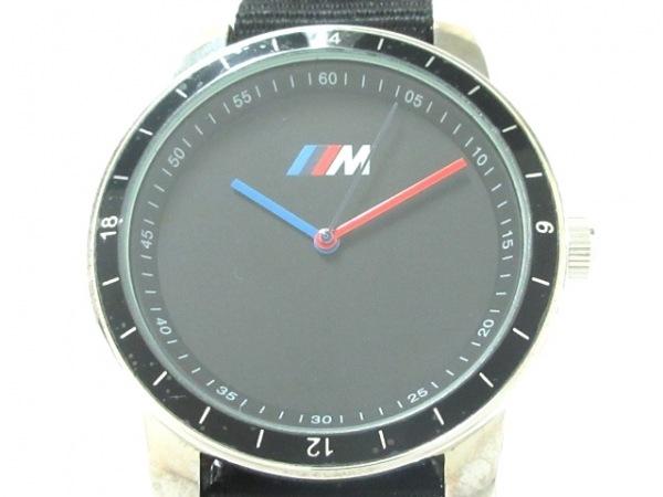 BMW(ビーエムダブリュ) 腕時計美品  - - メンズ Mモデル/ディーラー成約記念 黒