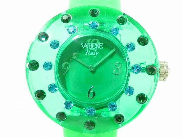 VABENE(ヴァベーネ) 腕時計美品  - レディース グリーン
