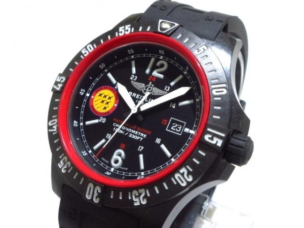 ブライトリング 腕時計 コルトスカイレーサー・パトルーユスイス X74320B5/BG23 黒
