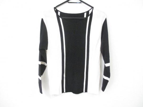 DES PRES(デプレ) 長袖セーター サイズS レディース美品  黒×アイボリー