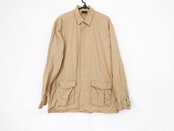 H.HYSTERIC GLAMOUR(エイチ/ヒステリックグラマー) 長袖シャツ サイズM メンズ カーキ