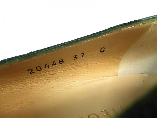 ボッテガヴェネタ パンプス 37 C レディース グリーン 6
