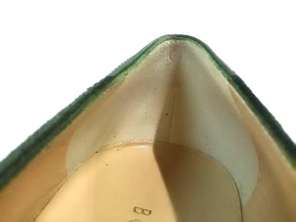 ボッテガヴェネタ パンプス 37 C レディース グリーン 8