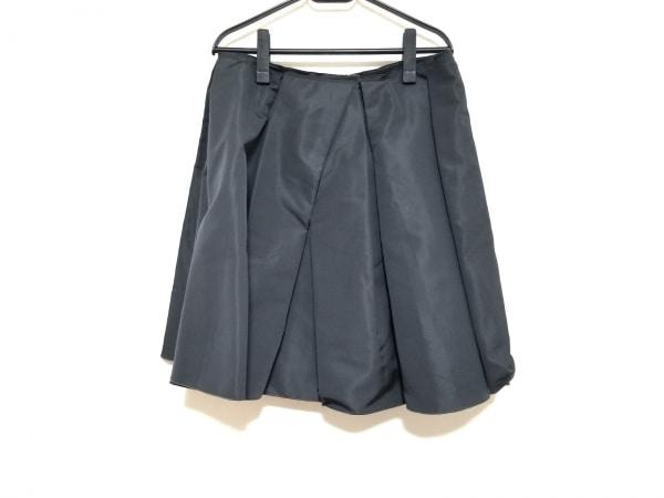 PRADA(プラダ) スカート サイズ42 M レディース美品  ダークグレー