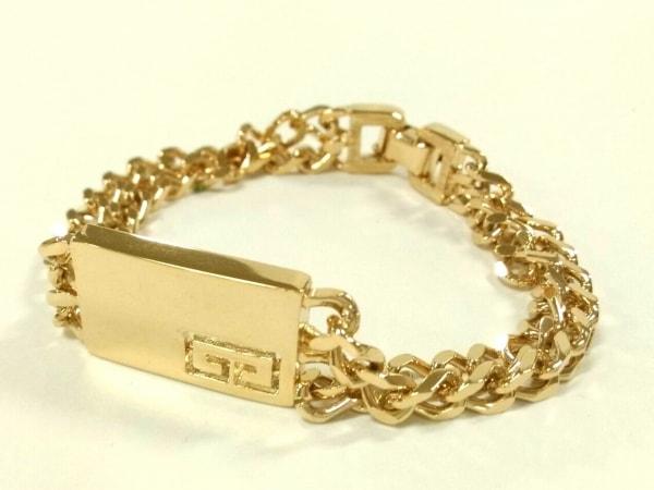 GIVENCHY(ジバンシー) ブレスレット美品  金属素材 ゴールド