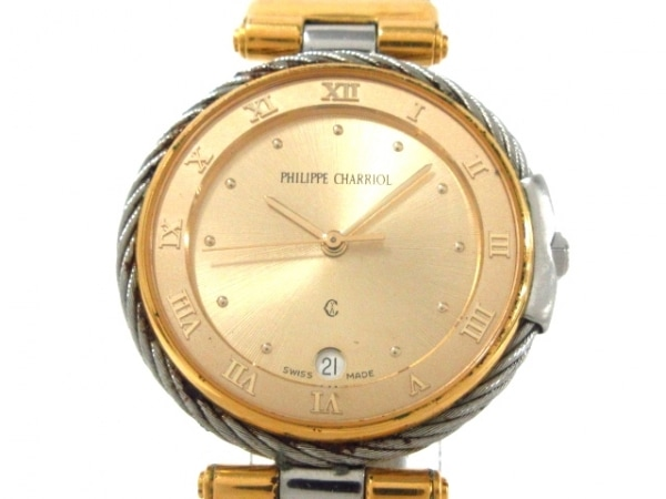 PHILIPPE CHARRIOL(フィリップシャリオール) 腕時計 ケルティック - メンズ ゴールド