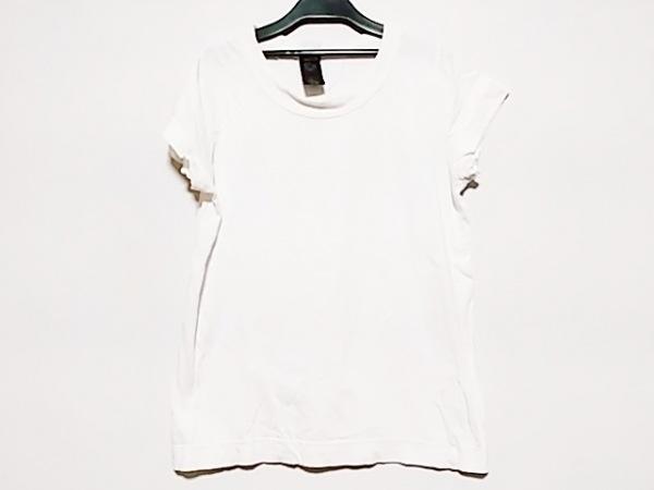 homspun(ホームスパン) 半袖Tシャツ サイズM レディース アイボリー