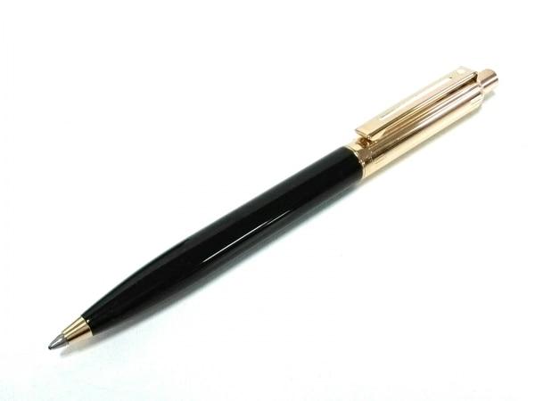 SHEAFFER(シェーファー) ペン美品  黒×ゴールド インクあり(黒) プラスチック