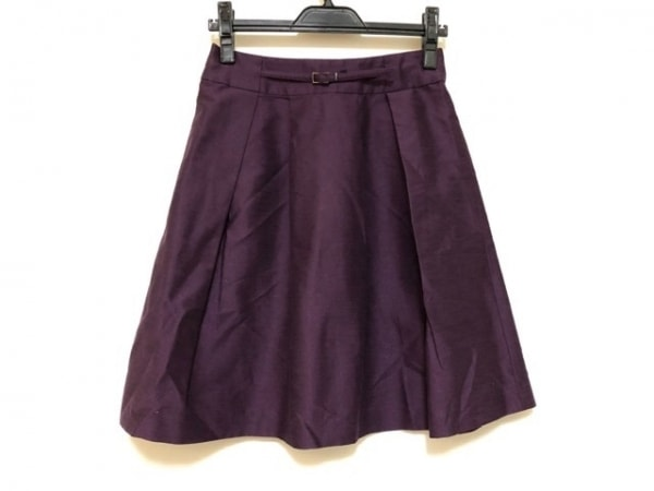 NARACAMICIE(ナラカミーチェ) スカート サイズ1 S レディース パープル