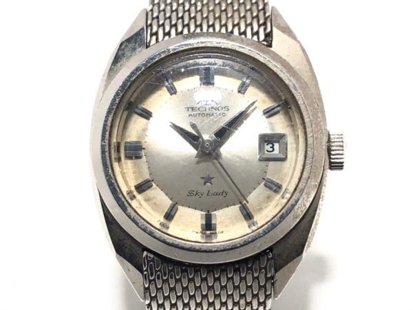 TECHNOS(テクノス) 腕時計 SKY LADY - レディース シルバー
