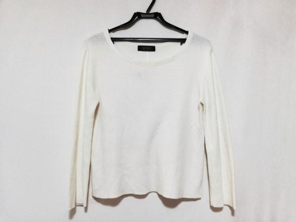 JUSGLITTY(ジャスグリッティー) 長袖セーター サイズ2 M レディース 白