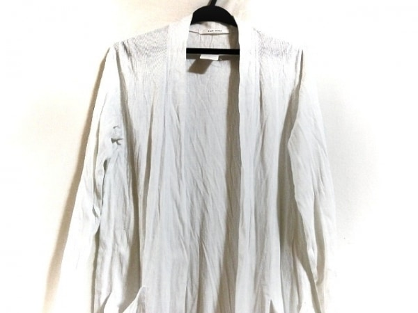 PLAIN PEOPLE(プレインピープル) コート サイズ3 L レディース美品  白 夏物