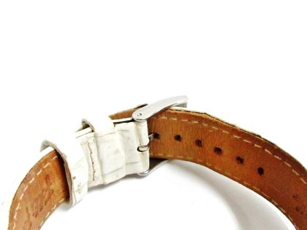 フォリフォリ 腕時計 WF5T095 レディース 革ベルト/ラインストーン シルバー