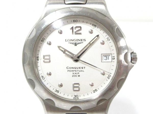LONGINES(ロンジン) 腕時計 コンクエスト L1.636.4 メンズ シルバー
