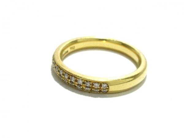 RUGIADA(ルジアダ) リング美品  K18YG×ダイヤモンド 30Pダイヤ