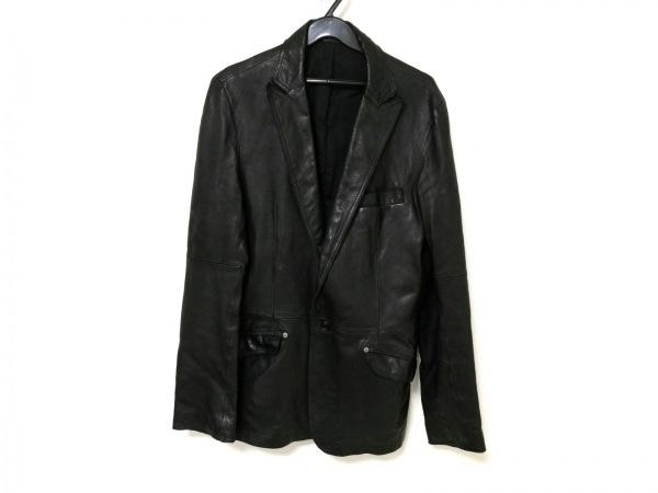 COMME CA DU MODE MEN(コムサデモードメン) ジャケット メンズ 黒 レザー