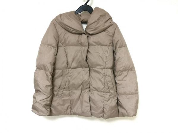 ef-de(エフデ) ダウンジャケット レディース ベージュ 冬物