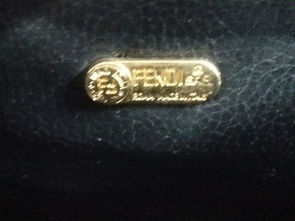 FENDI(フェンディ) ハンドバッグ ペカン - ベージュ×ダークグレー×ブラウン