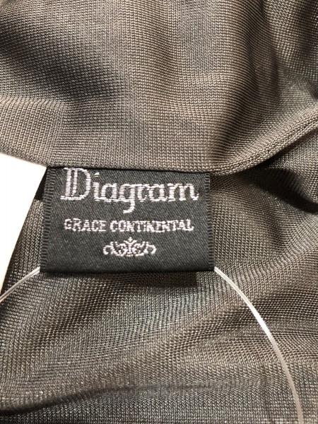 ダイアグラム パンツ サイズ36 S レディース ダークグレー ベロア