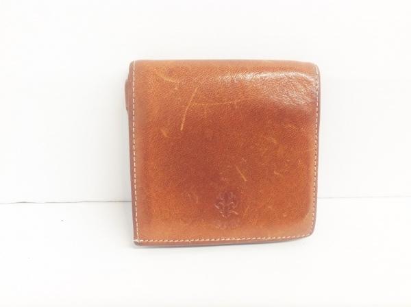 CIVA(チーバ) 3つ折り財布 ブラウン レザー