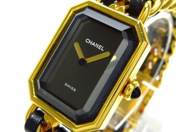 CHANEL(シャネル) 腕時計 プルミエール H0001 レディース サイズ:M 黒