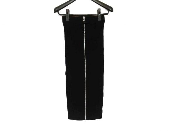 アレキサンダーワン スカート サイズXS レディース美品  黒 ジップアップ