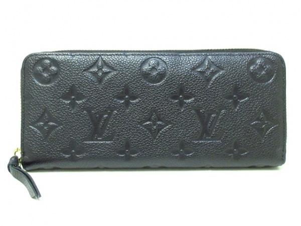 ルイヴィトン 長財布 モノグラム・アンプラント ポルトフォイユ・クレマンス M60171