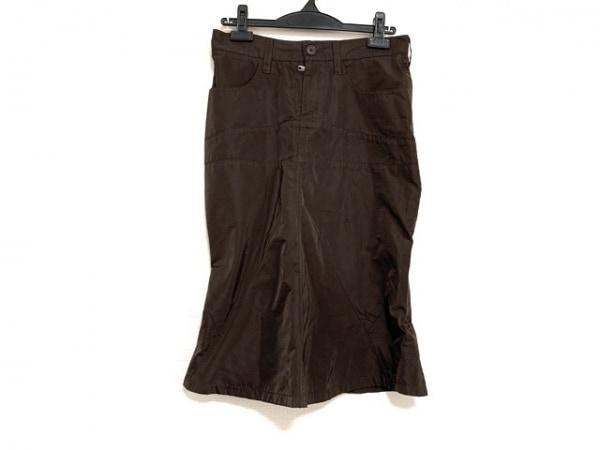 JILSANDER(ジルサンダー) スカート サイズ34 XS レディース美品  ダークブラウン
