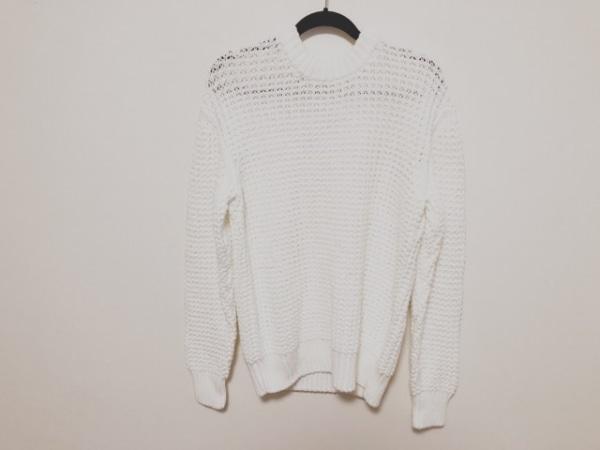 N.Hoolywood(エヌハリウッド) 長袖セーター サイズ38 M メンズ美品  白