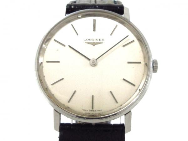 online store 621d7 2d3db LONGINES(ロンジン) 腕時計 - メンズ 革ベルト シルバー