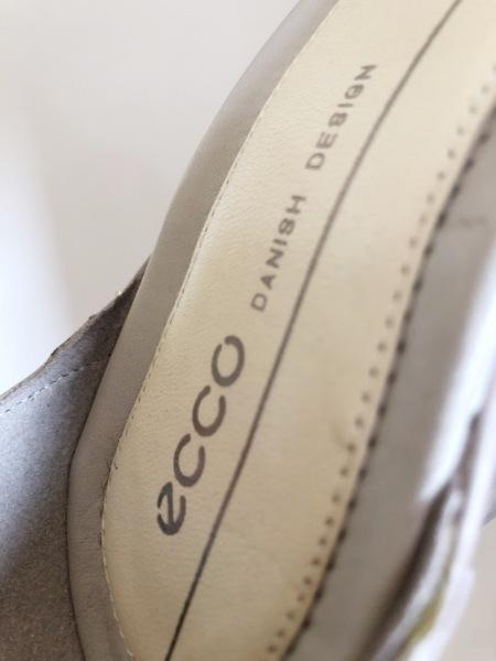 ECCO(エコー) パンプス 36 レディース グレー レザー 5