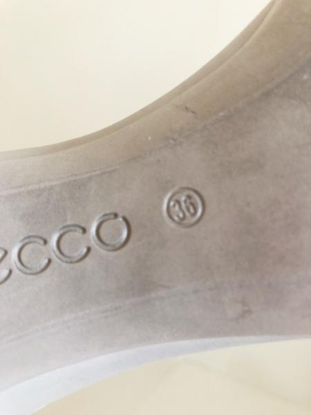 ECCO(エコー) パンプス 36 レディース グレー レザー 6