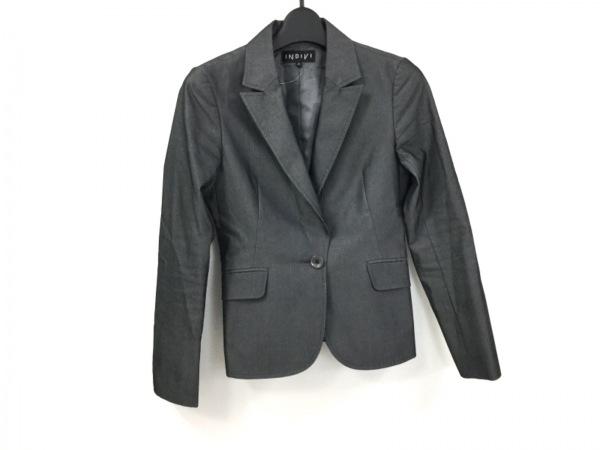 INDIVI(インディビ) ジャケット サイズ36 S レディース美品  グレー